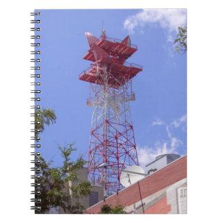 Microwave Relay Radio Telecom Tower Notebook