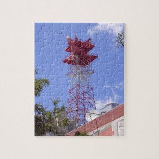 Microwave Relay Radio Telecom Tower Puzzle