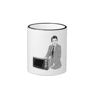 Microwave Salesman Coffee Mug