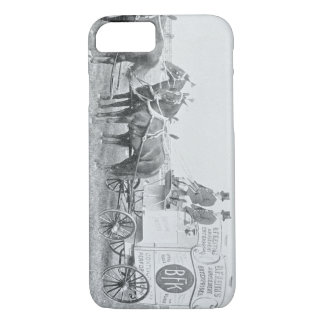 Mid 1800's Horse and Carriage Advertising Wagon iPhone 7 Case