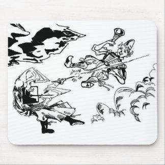 Mid-Air Battle Mousepad! Mouse Pad