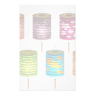 Mid Autumn Festival - Paper Lantern Customized Stationery