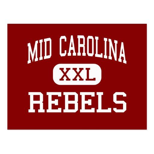 Mid Carolina - Rebels - High - Prosperity Postcard