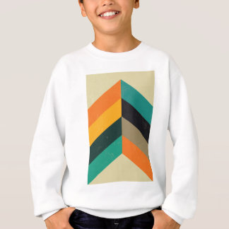 Mid Century Chevron Sweatshirt