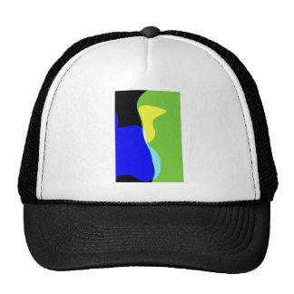 Mid Century Mod Art Hat