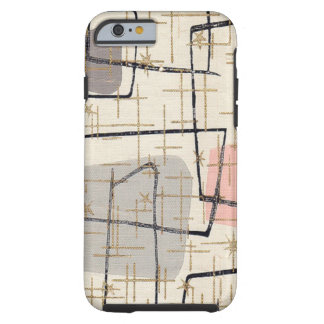 Mid Century Modern Abstract Fabric iPhone 6 Case