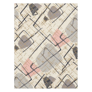 Mid Century Modern Abstract Tablecloth