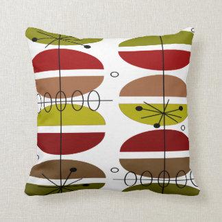 Mid-Century Modern Atomic Inspired Pillow