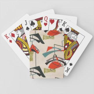 Mid Century Modern Atomic Mobile Playing Cards