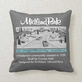 Mid-century Modern Authentic Artwork Pillow
