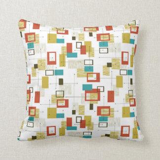 Mid-century Modern Design Pillow