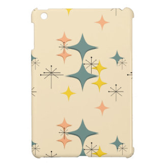 Mid Century Modern Eames Atomic Starbursts Custom Case For The iPad Mini