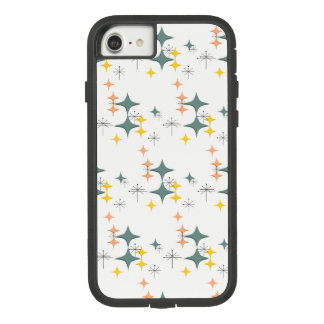 Mid Century Modern Eames Atomic Starbursts Custom Case-Mate Tough Extreme iPhone 8/7 Case