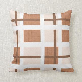 Mid Century Modern Geometric Throw Pillow