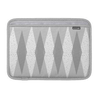 Mid Century Modern Grey Argyle MacBook Air Sleeve