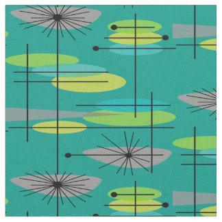 Mid-Century Modern Half Moons Design Fabric 25