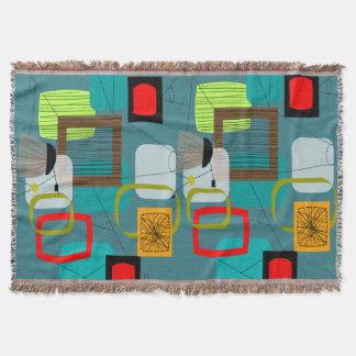 Mid-Century Modern Inspired Woven Blanket #1