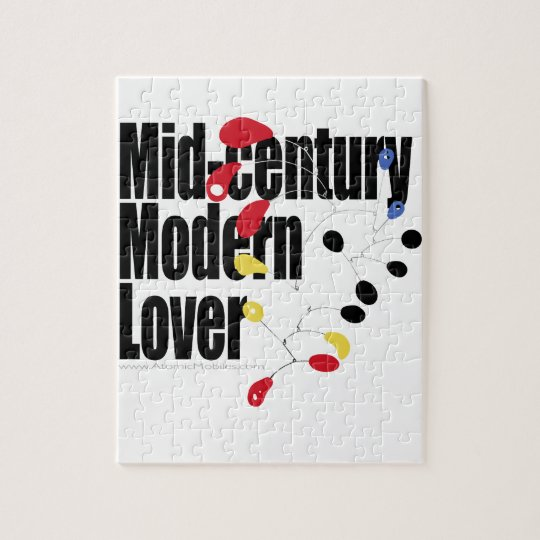 Mid Century Modern Lover Jigsaw Puzzle