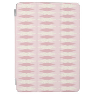 Mid Century Modern Pink Argyle iPad Smart Cover iPad Air Cover