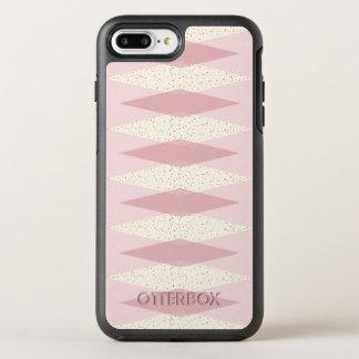 Mid Century Modern Pink Argyle Otterbox Case