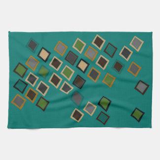 Mid Century Modern Style Tea Towel