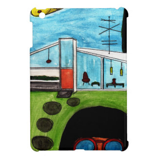 Mid Century Modern UFO iPad Mini Cases