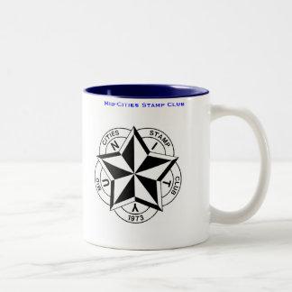 Mid-Cities Stamp Club Logo Coffee Mug