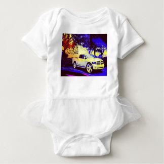 MID-KNIGHT TRUCK STOP BABY BODYSUIT