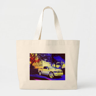 MID-KNIGHT TRUCK STOP LARGE TOTE BAG