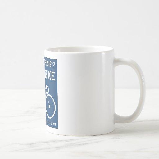 Mid Life Crisis Cycling Mug Coffee Mug