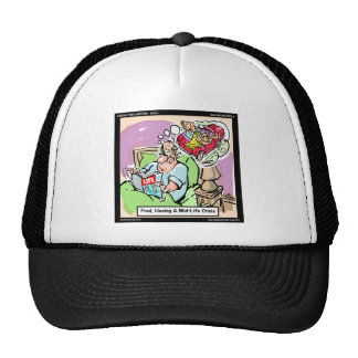 Mid Life Crisis Funny tees, gifts, cards mugs, etc Trucker Hat