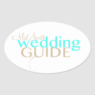Mid South Wedding Guide Stickers