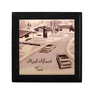 Midcentury Modern Architecture Gift Box