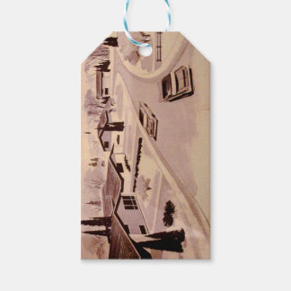 Midcentury Modern Architecture Gift Tags