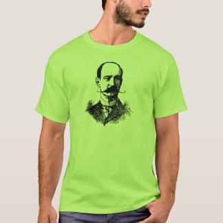 Middle Age Bald Man with Moustache Vintage T-Shirt