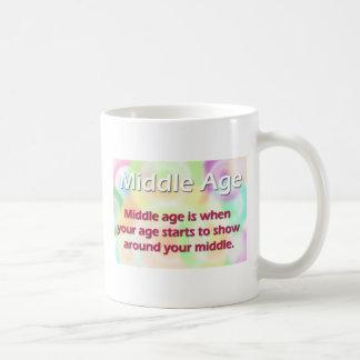 Middle age mug