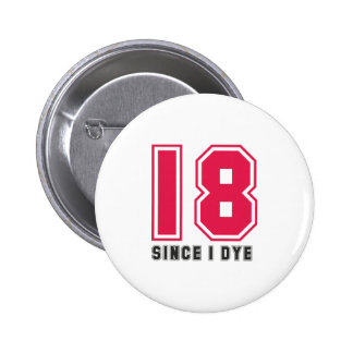middle age pinback buttons