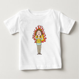 Middle aged woman hot flash baby T-Shirt