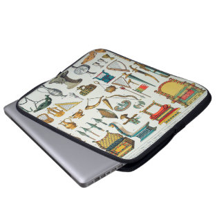 Middle Ages Laptop Computer Sleeves
