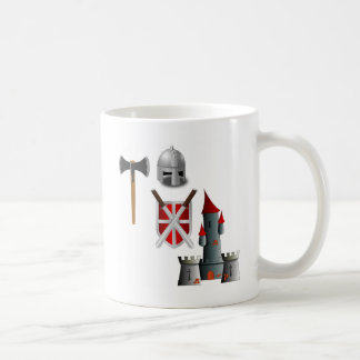 Middle Ages Mash-up Basic White Mug
