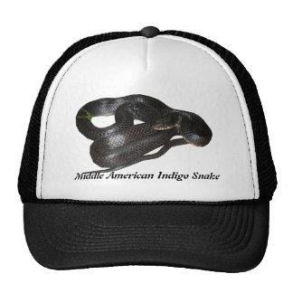 Middle American Indigo Snake Mesh Hat