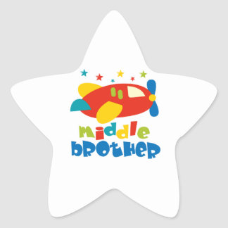 Middle Brother Plan Stars Star Stickers