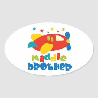 Middle Brother Plan Stars Stickers