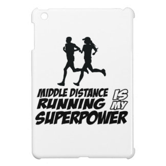 Middle distance running iPad mini cases