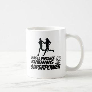 Middle distance running mug