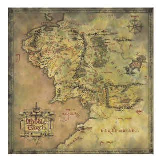 MIDDLE EARTH™ #2 POSTER