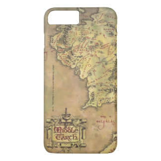 Middle Earth Map iPhone 7 Plus Case