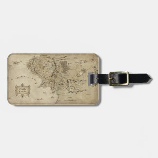 MIDDLE EARTH™ Map Luggage Tag