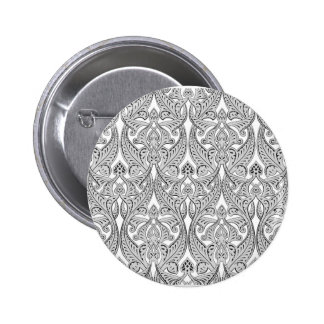 Middle Eastern Arabic Pattern Pinback Buttons