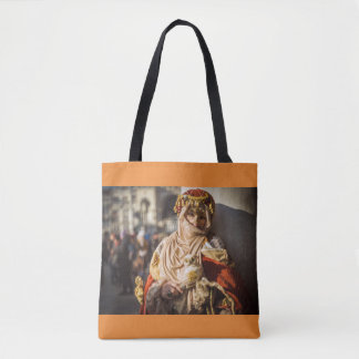 Middle Eastern carnival mask in Venice Tote Bag
